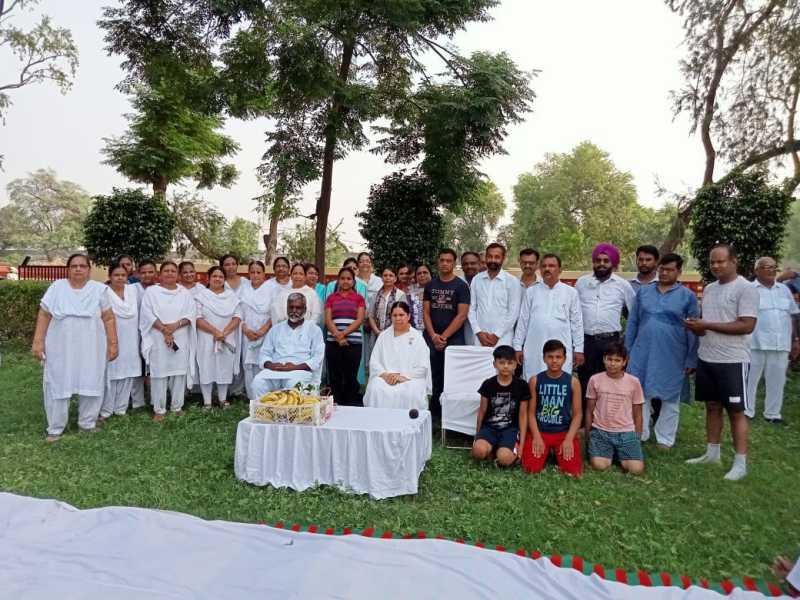 Meditation Camp in Raman At park